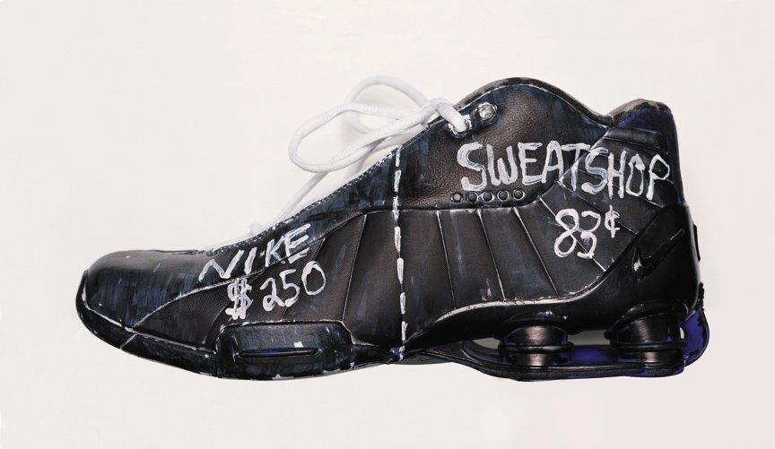 Nike Shoe Sweatshop from Adbusters