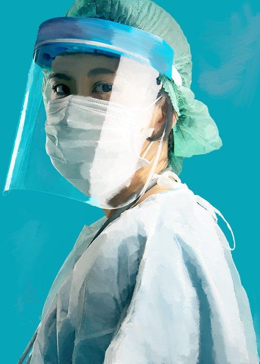 Portrait of a Nurse by Thalia