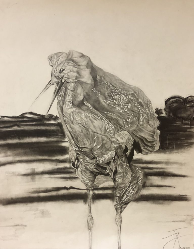 Stork by Tesia