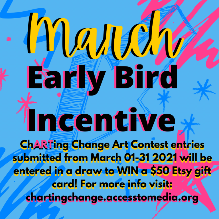 Announcing the March Early Bird Incentive and Thalia's Win!